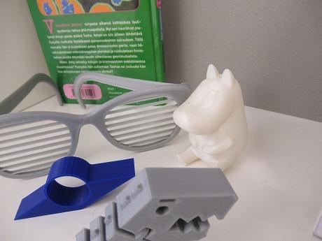 3Dプリンタームーミン