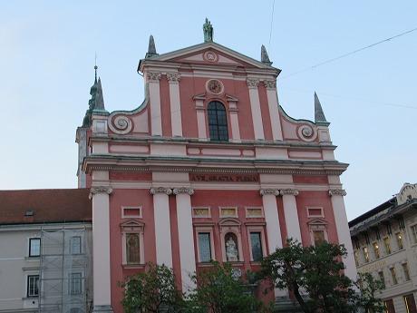フランシスコ教会昼