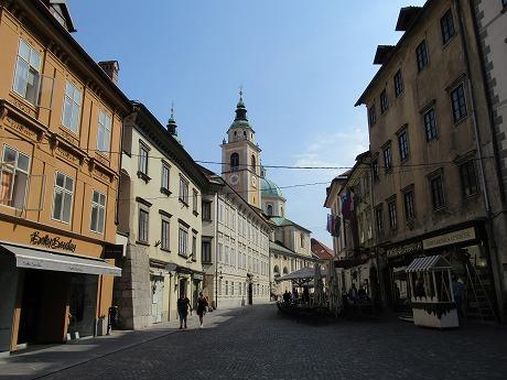リュブリャナ旧市街1