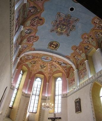 聖ジョージ礼拝堂天井