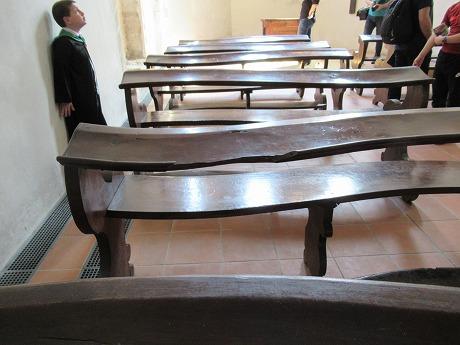 聖ジョージ礼拝堂椅子