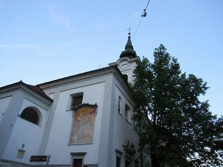 リュブリャナ旧市街 教会