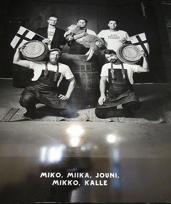 Kyrö Distillery 主要メンバー