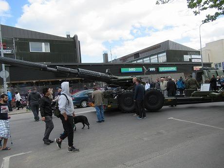 戦車展示1