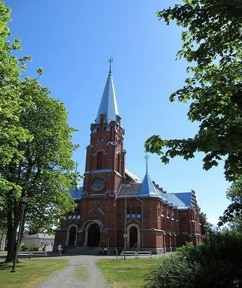 Kristiinakaupunki教会1