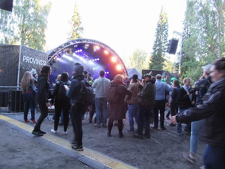 Tuomari Nurmioと観客ダンス