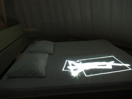 国立博物館ベッド