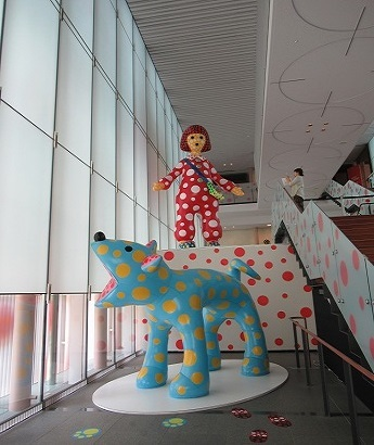 松本市立美術館オブジェ1