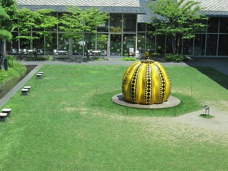 松本市立美術館カボチャ