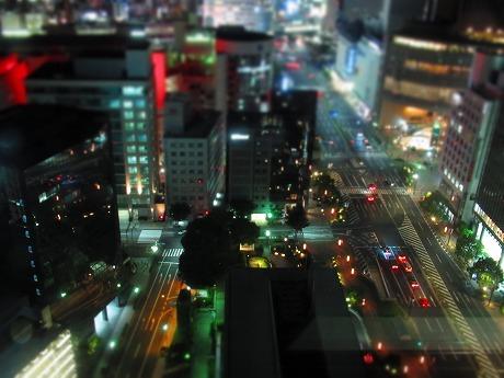 三宮ミニチュア夜景