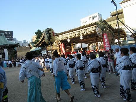 天神祭盆踊り