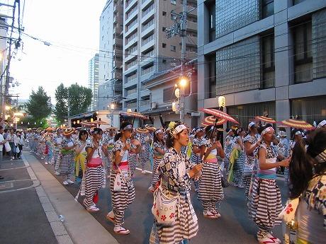 天神祭傘踊り