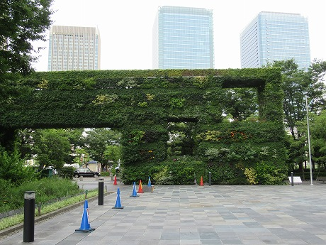 空中庭園希望の壁