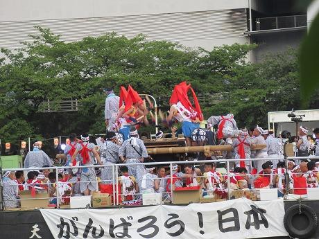 天神祭がんばろう!日本
