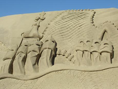 砂の城ガウディ建築