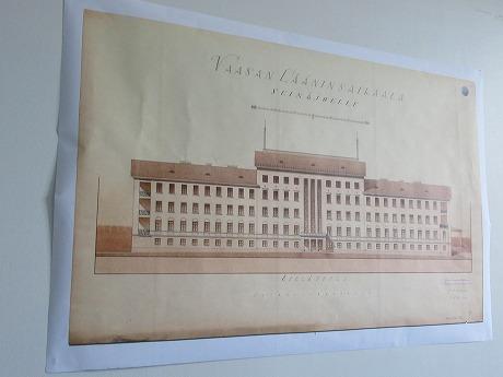 元病院古い設計図