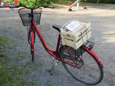 モルックと自転車