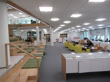SeAMK図書館スペース1
