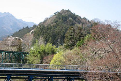 弟富士山を振り返る