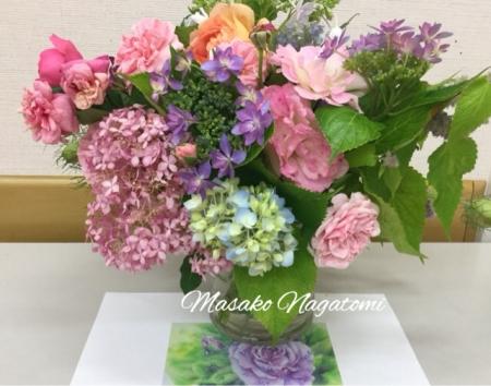 カルチャー教室紫陽花