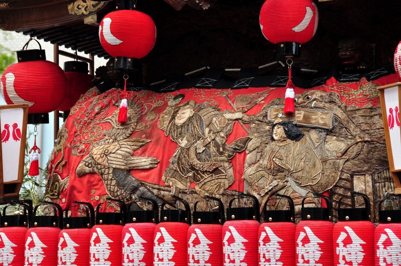 ⑧八幡神社のだんじりの細工