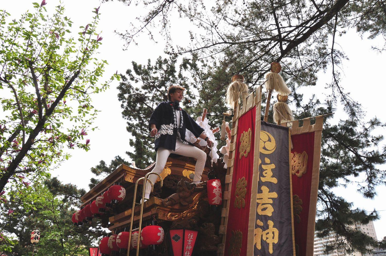 ①安倉住吉神社だんじり