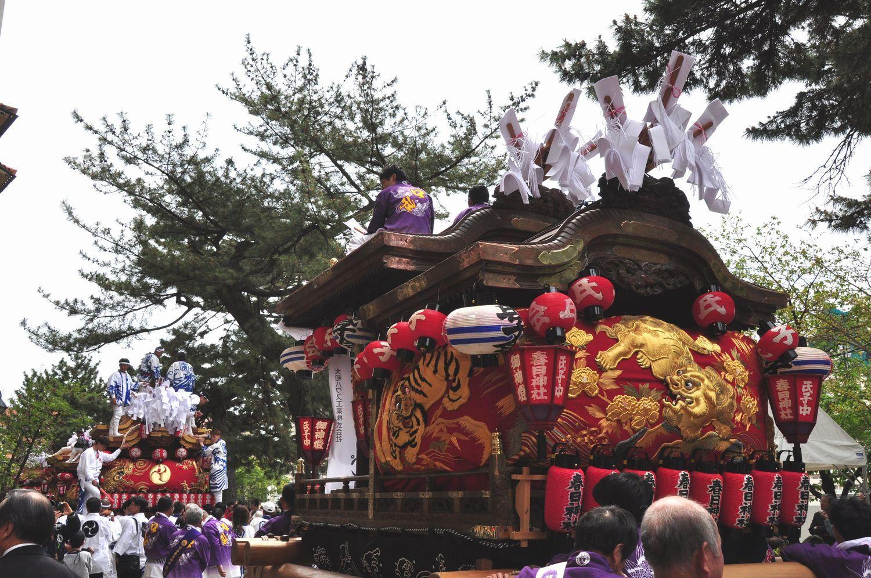 ⑤小浜春日神社のだんじり