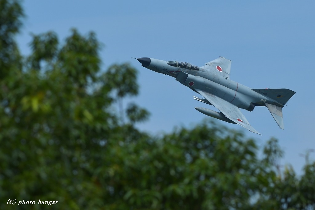 Fighter-wing  F-4EJ改 Low flying②