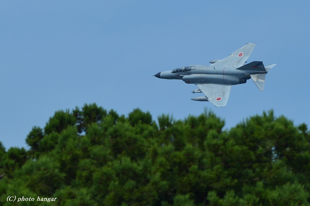 Fighter-wing  F-4EJ改 Low flying①