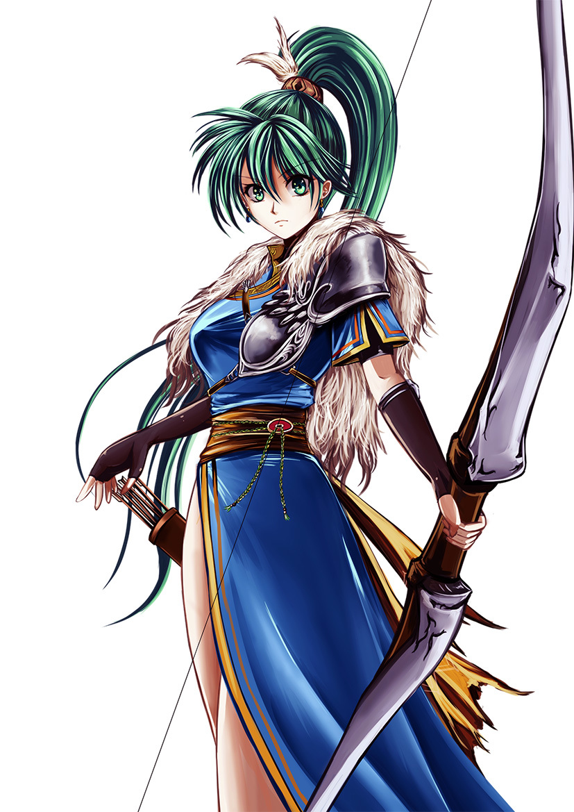 Green Bow Lyn - Fire Emblem