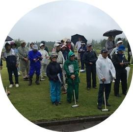 8 雨開会式④