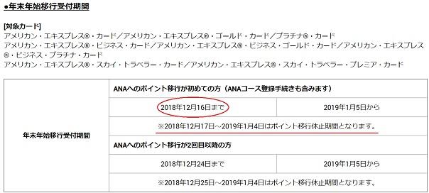 201809AMEXポイント移行②