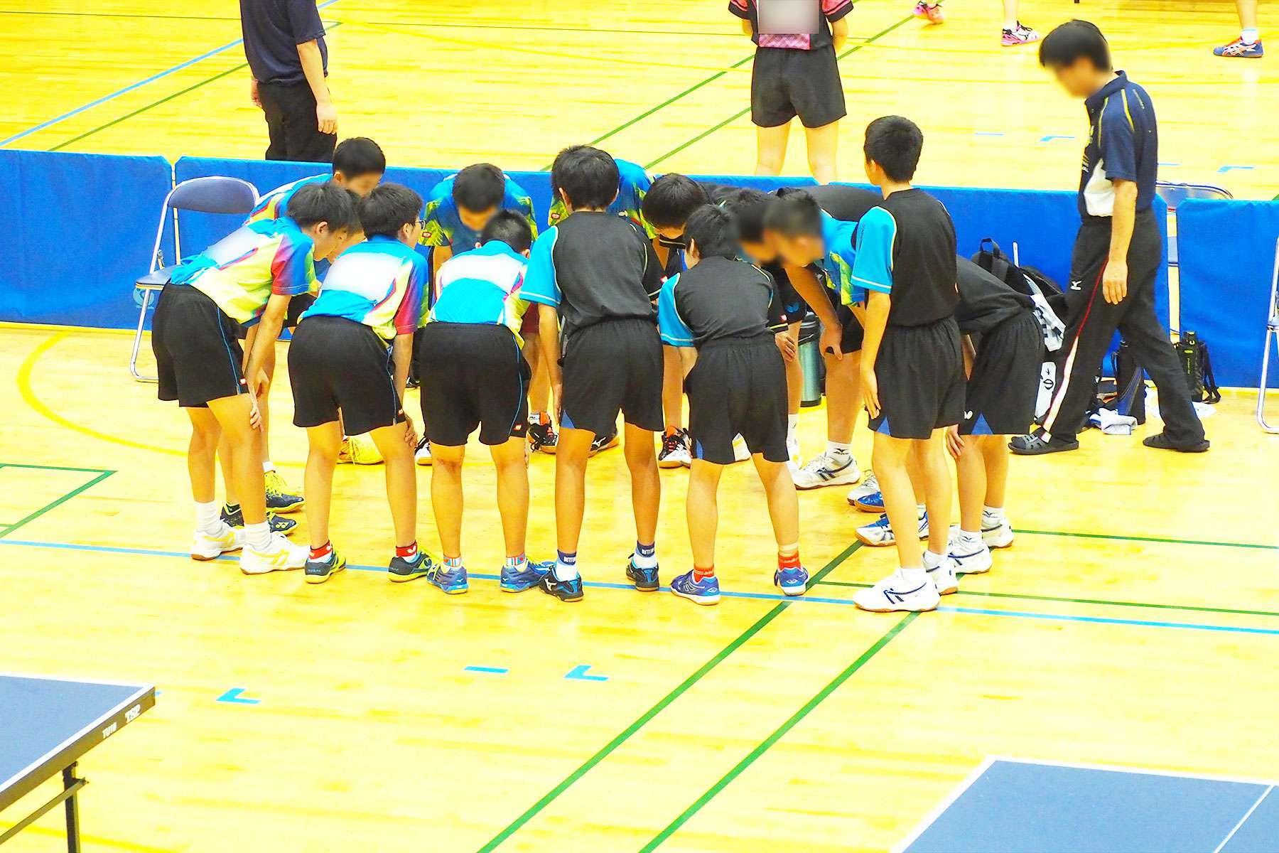 201807_夏季地区卓球大会・団体