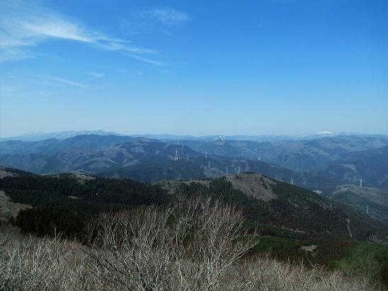 大峯山山頂風景