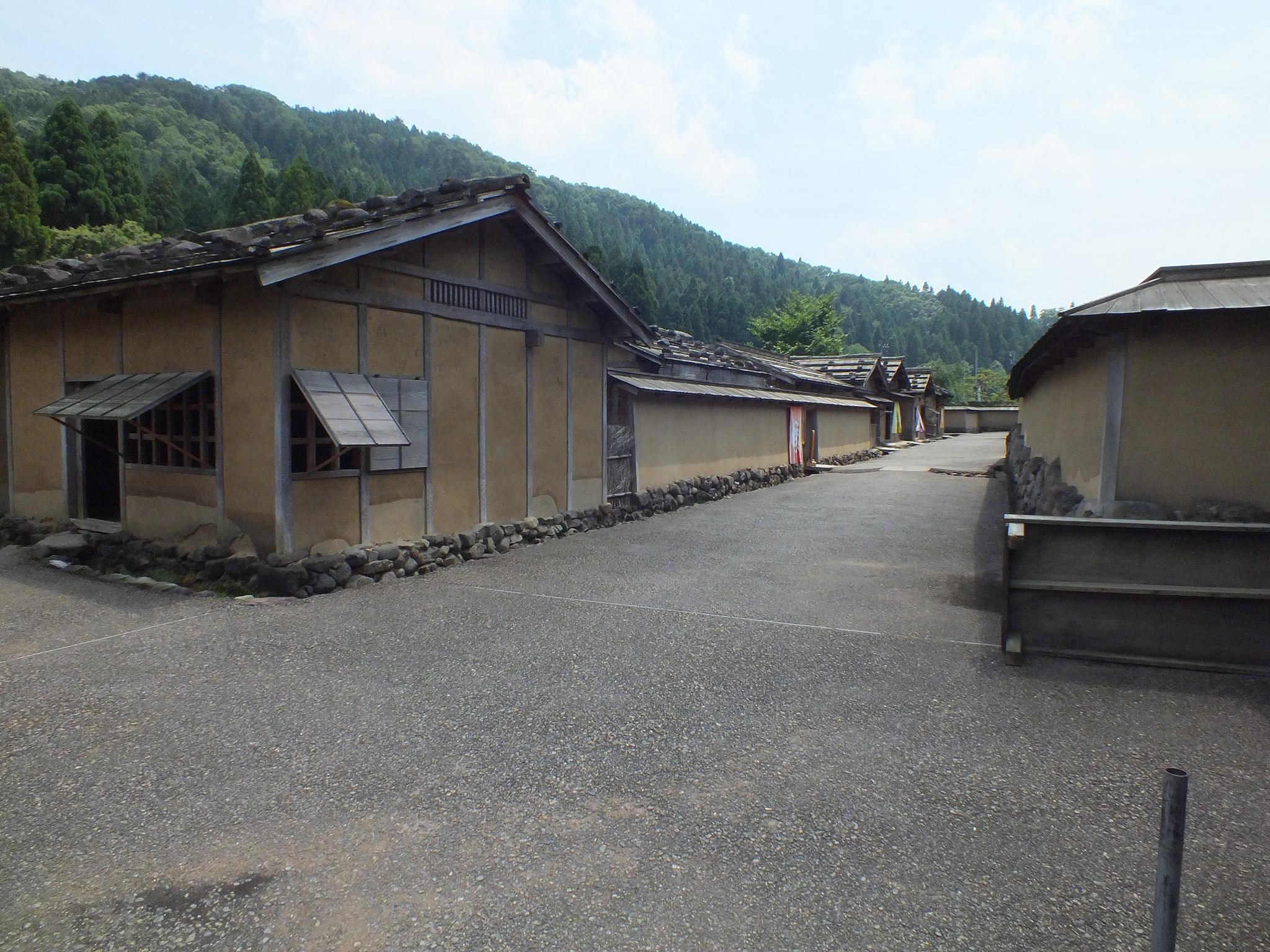 朝倉遺跡 復元