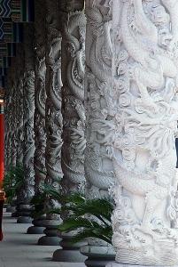 炎帝神殿柱