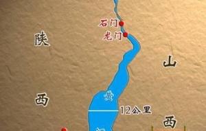 龍門の地図