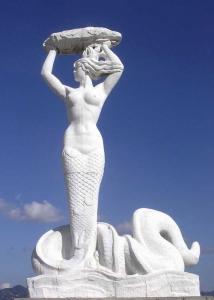 白蛇女媧像