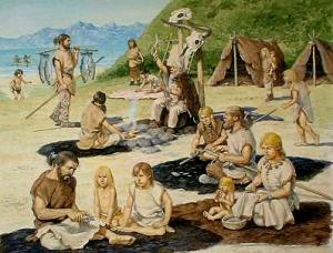 34 旧石器時代暮らし