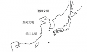 15 中国産大文明地図
