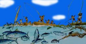 19 縄文時代の釣り