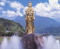 16 瀬織津姫銅像