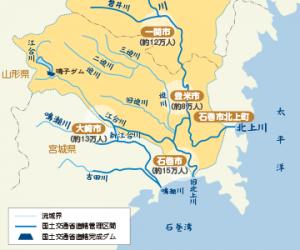 14 北上川地図