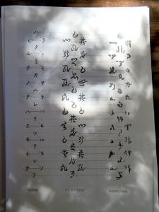 18 アヒルクサ文字