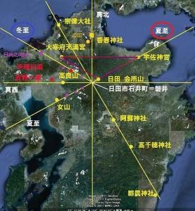 32 日田 地図 方向