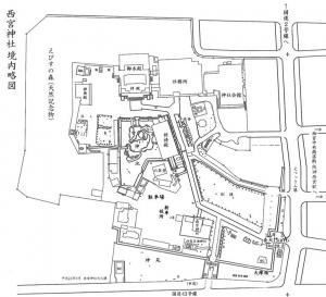 9 西宮神社 境内図