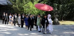 3 日前宮の結婚式