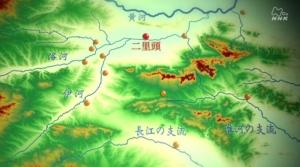 15 二里頭遺跡地図