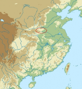 20 裴李崗文化地図