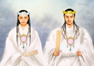 13 御両尊の婚姻